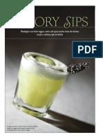 Flavor - Savory Cocktails