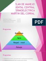 Plan de Manejo Ambiental Central Termoelectrica