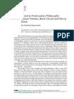 Frederik Depoortere -ART- Christ in Postmodern Philosophy- Vattimo, Girard and Zizek