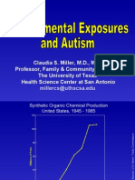 Environmental Exposures and Autism