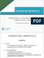 Leccion 6 Fuentes Del Derecho I 2013-2014