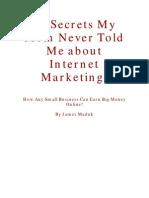 52 Secrets About Internet Marketing