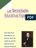 Clase 1 Necesidades Educativas Especiales[1]