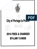 2014 fees and charges