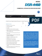 Dsr-4460 Commercial Receiver Decoder Amt