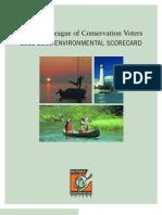 Michigan Environmental Scorecard - 2005-2006