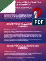 Qué es la auditoría informática de sistemas