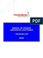 MANUAL DE USUARIO TELECAB PERÚ Ed-4