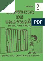 Canticos de Salvação vol. 2