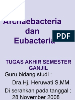 Archaebacteria Dan Eubacteria.x-i.Kelompok 7