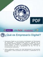 Empresario Digital - Presentación
