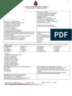 ensayo diagnostico 2012  lenguaje 6° básico