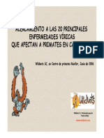 Charla Enfermedades Viricas de Primates Madrid 2006