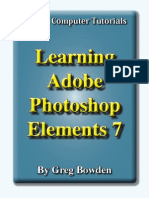 Learning Adobe Photoshop Elements 7 - Introduction