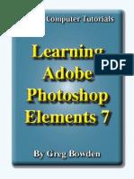 Learning Adobe Photoshop Elements 7 - Introduction