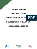 Manual de Mecanismo de Desarrollo Limpio
