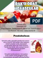 Interaksi obat kardiovaskuler