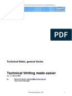 eBook Writing Technical Writing Made Easier