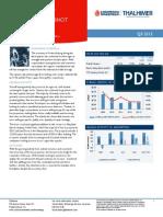 Fredericksburg AMERICAS Alliance MarketBeat Industrial Q32013