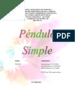 Pendulo Simpleiii