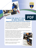 VISION FOR QUALITY EDUCATION 