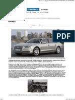 Audi A8, Changer Pour Ne Pas Changer