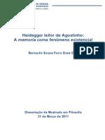 Heidegger Leitor de Agostinho