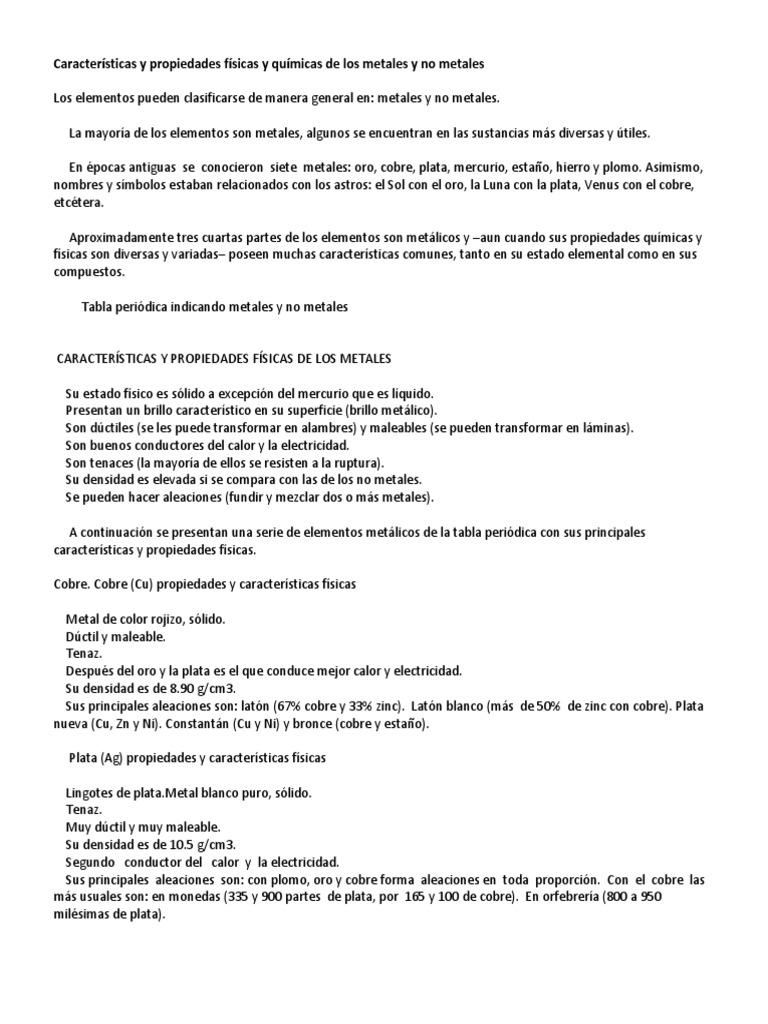 Caractersticas y propiedades fsicas y qumicas de los metales y no 1537223859v1 urtaz Gallery