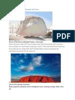 5 Batu Terunik Dan Teraneh Di Dunia
