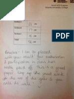 Sample SAC feedback 1