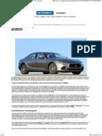 BMW, Mercedes, Jaguar, Audi_ des routières «quatre saisons»