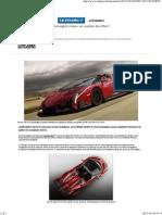 Lamborghini Veneno, un roadster décoiffant!