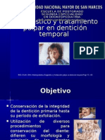 Diagnóstico y tratamiento pulpar en dentición temporal