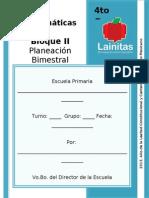 4to Grado - Bloque 2 - Matemáticas.doc