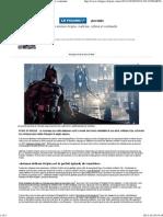 _i_Batman Arkham Origins__i__ maîtrise, rythme et continuité