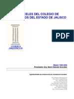 Aranceles Jalisco