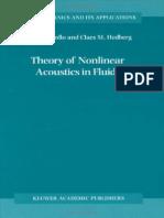 7343887-theoryofnonlinearacousticsinfluids