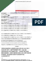 """MÖRDER """"IM THALI-KRÜPPEL"""" Klaus-Peter Stilkerig unterschlägt mir zustehende Gelder plus GESTOHLENE Gelder plus Auto, Post, Auszüge und und und - 31. Oktober 2013"""