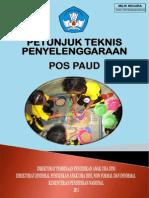 Juknis Penyelenggaraan Pos PAUD