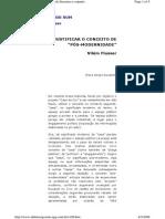 Vilém Flusser - Justificar o conceito de pós-modernidade.pdf
