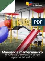 Manual Infraestructura MANTENIMIENTO