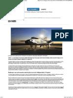 Vol test à moitié raté pour l'avion spatial Dream Chaser