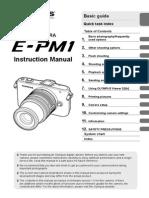 E-PM1 Instruction Manual
