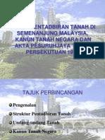 Sistem Pentadbiran Tanah KTN.ppt