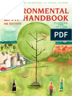 Environmental Law Handbook Example