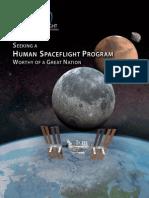 Seeking a Human Spaceflight Program Worthy of a Great Nation
