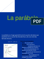 GEOMETRIA ANALITICA LA PARABOLA DEBER.ppt