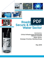 2013 Roadmap to a Secure & Resilient Water Sector