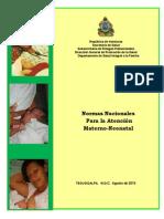 Normas de Atención Materno-Fetal copia