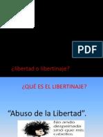 Libertad o Libertinaje